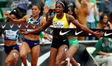 """الرقم العالمي لسباق 100 م في """"متناول"""" الجامايكية تومسون-هيراه"""