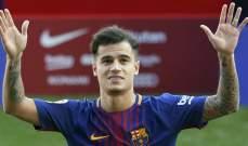 برشلونة لا يمانع عودة كوتينيو الى ليفربول