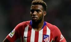 أتلتيكو مدريد لأرسنال: صفقة ليمار مرتفعة الثمن