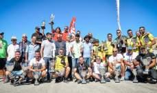 روجيه فغالي بطل الجولة الرابعة من بطولة لبنان لسباقات السرعة