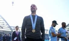 ماذا قال غوارديولا بعد الفوز بلقب الدوري الانكليزي ؟