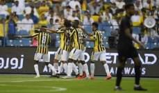 الدوري السعودي: فوز البطل المتوج والاتحاد ينهي معاناة البقاء بفوز