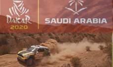 برج خليفة يعرض فيديو الحملة الدعائية لداكار السعودية 2020
