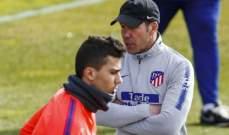 رودري: سيميوني طلب مني البقاء في اتلتيكو مدريد