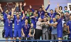 الصداقة يحتفظ بلقب بطولة لبنان لكرة اليد