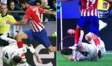 جماهير ليفربول فرحة بتعرض راموس للضرب