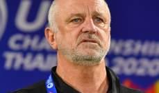 مدرب الاولمبي الاسترالي  يكشف سر الفوز على سوريا