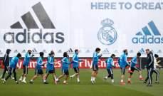 ريال مدريد يعود للتدريبات بعد الاقصاء من دوري الابطال