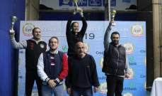 بطولة لبنان للحزام الاحمر في التايكواندو: انترانيك(انطلياس) في المركز الأول