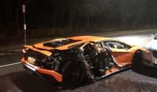 سيارة لاعب شيفيلد تصطدم بسيارات أخرى في حادث مروع
