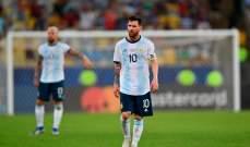 ميسي يرأس قائمة الارجنتين لتصفيات كأس العالم