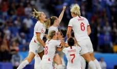 مونديال السيدات: انكلترا الى نصف النهائي بعد اكتساح النروج