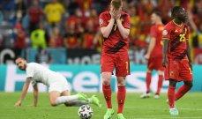 كأس أوروبا: فرصة ضائعة جديدة للجيل الذهبي البلجيكي