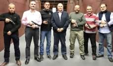 بطولة جبل لبنان في رماية المسدس : اللقب لألفونسو خليل