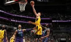 NBA : إنديانا بايسرز يفوز على شارلوت هورنيتس