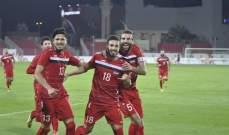 سوريا الاولمبي يهزم نظيره البحريني في مباراة ودية