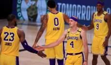 NBA: الليكرز على طريق اعادة سيناريو الدور الاول من النهائيات امام الروكتس