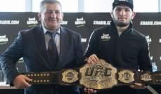 المصارع عمر نورماغوميدوف يتقدم بثبات باتجاه بطولة UFC