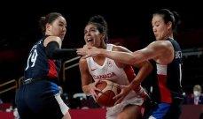 كرة سلة- طوكيو 2020: سيدات كوريا تسقطن امام نظيراتهن الكنديات