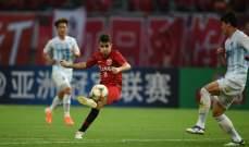 دوري أبطال آسيا: ثلاثية للبرازيلي أوسكار تضع شنغهاي في ثمن النهائي
