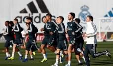 عودة ثنائي ريال مدريد للتدريبات بشكل جزئي
