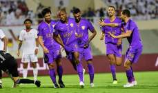 الدوري الاماراتي:الشارقة يتصدر على حساب العين وفوز حتا على اتحاد كلباء