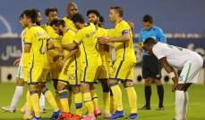 """تصرف """"نبيل"""" من لاعب النصر بعد تسجيله هدف في شباك فريقه السابق"""