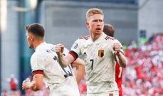 يورو 2020 : دي بروين يقلب موازين اللقاء ويهدي بلجيكا بطاقة التأهل بالفوز على الدنمارك