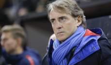 إستمرار غياب مانشيني عن منتخب إيطاليا بسبب كورونا