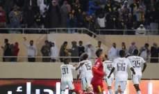 الاتحاد يحقق فوزه الثاني في الدوري والوحدة يتقدّم الى المركز الرابع.