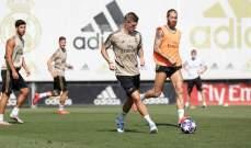 ريال مدريد يواصل إستعداداته لموقعة السيتي
