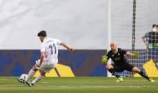 الليغا: ريال مدريد يواصل ضغطه على الاتلتيكو بثنائية امام ايبار