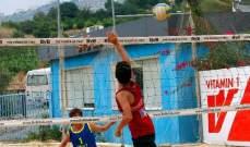برنامج المباريات النهائية لبطولة الكرة الطائرة الشاطئية