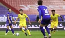 حكم مباراة ديربي الرياض وقع في خطأ بروتوكولي نادر