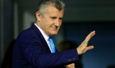 إقالة دافور سوكر من رئاسة الاتحاد الكرواتي