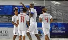 بطولة آسيا للكرة الشاطئية : اليابان تتأهل الى الدور ربع النهائي بفوزها الكبير على قطر