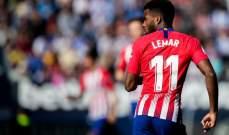 تدريبات اتلتيكو مدريد تشهد عودة ليمار وكوستا يواصل الغياب