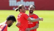 خوان فران وفيليبي لويس يلتقيان مجددا بعد مغادرة اتلتيكو مدريد