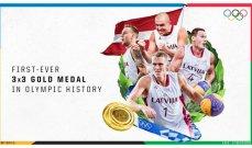 لاتفيا تحصد ذهبية السلة للرجال 3*3