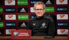 مدرب ايسلندا: كنا نريد اكثر من هذه المباراة