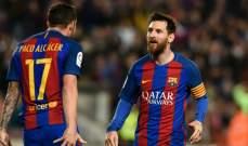 ميسي يشجع الكاسير على الرحيل من برشلونة