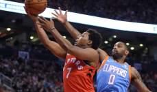 NBA: تورنتو يستعد لمواجهة الواريرز بفوز على الكليبرز