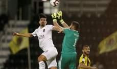 السد يمطر شباك قطر بثمانية اهداف