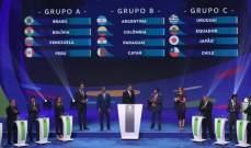 الارجنتين في المجموعة الثانية من قرعة اميركا الجنوبية 2019