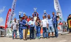السباق الرابع  للانجراف الدريفت : الألقاب لبستاني وبشعلاني وسكاف وليان