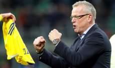 مدرب منتخب السويد يمدد عقده