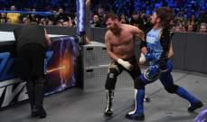 ستايلز يفسد مباراة اوينز وزين ولائحة رسمية بأفضل مصارعي سماك داون
