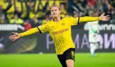 كأس المانيا: براندت يمنح دورتموند بطاقة التأهل امام غلادباخ وتاهل فرانكفورت