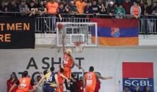 خاص: الهومنتمن الفريق الأكثر تسجيلا في المرحلة الثامنة عشر والاخيرة من الدوري اللبناني لكرة السلة