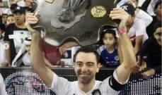 تشافي سعيد بالفوز بالدوري القطري